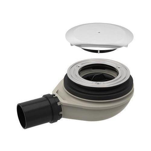Syfon brodzikowy niski 90 mm chrom