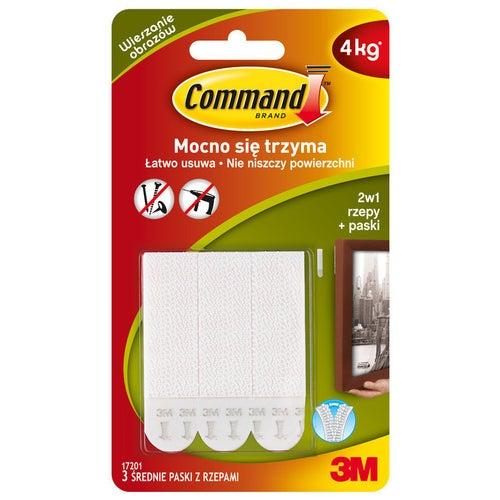 Rzepy Command 3 szt.