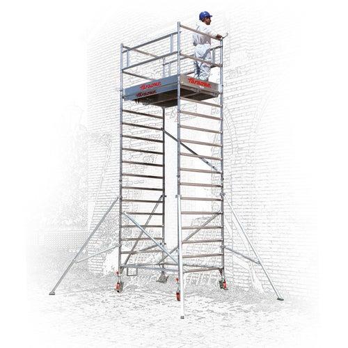 Rusztowanie Faraone Top System 245, 135x245 cm, 1,4 m, aluminium