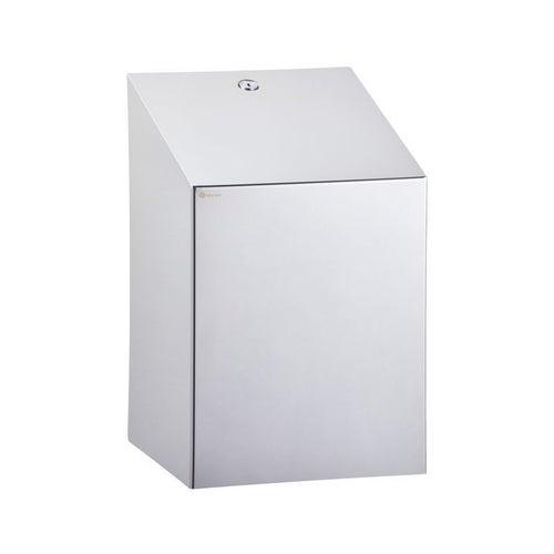 Pojemnik na ręczniki w rolach Merida Stella Maxi max. średnica papieru 22 cm, stal polerowana, CSP101