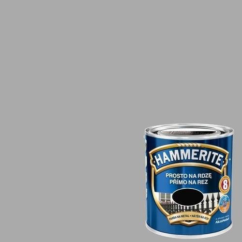 Farba antykorozyja Hammerite srebrny połysk 0,7l