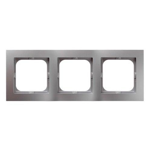 As srebrny ramka x3