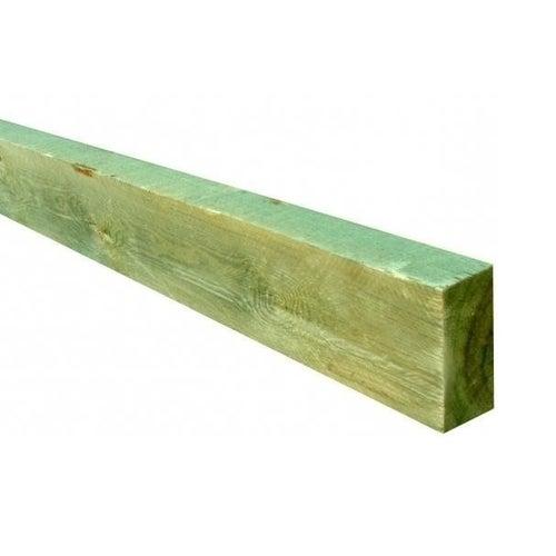 Krawędziak sosnowy, impregnowany 60x120x3000 mm