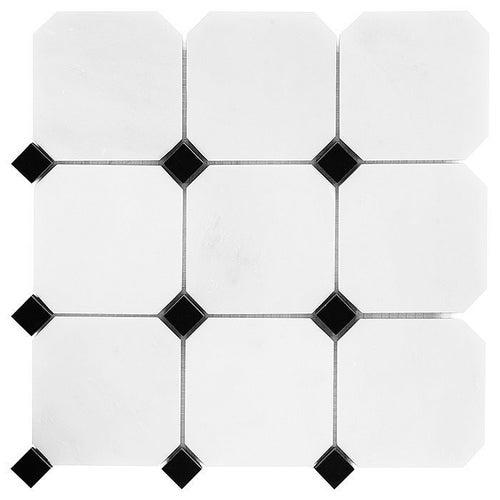 Mozaika kamienna Pure Octagon 100 30.5x30.5 cm gat.1
