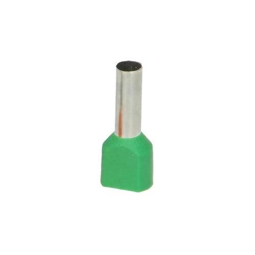 Końcówka tulejkowa izolowana 2 x 6 mm2 / 14 mm 25szt