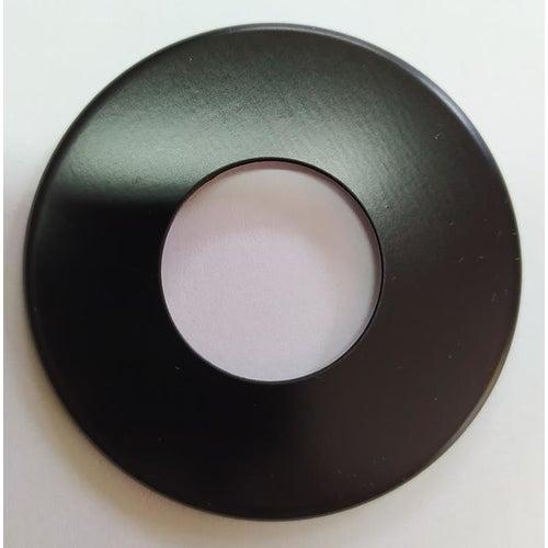 Rozeta maskująca pojedyncza fi 25 mm czarna