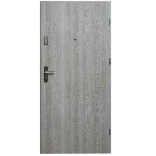 Drzwi wejściowe wewnątrzlokalowe Dioryt 90 cm prawe dąb nordycki