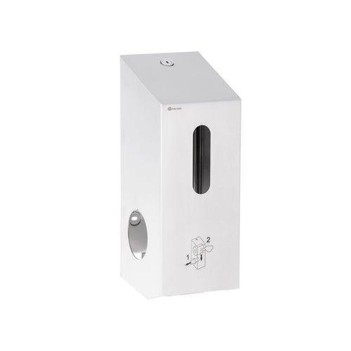 Pojemnik na dwie małe rolki papieru toaletowego Merida Stella, stal matowa, BSM501