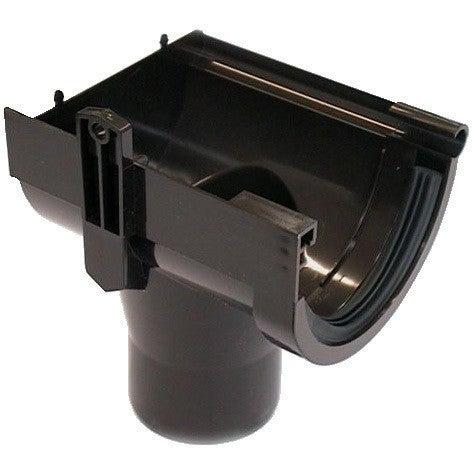 Lej spustowy prawy G80, brązowy PVC Scala Plastics