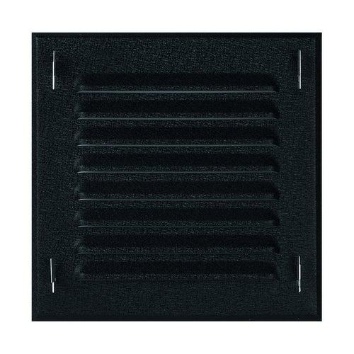 Kratka kominowa metalowa 14x14 MTK2CZ czarna