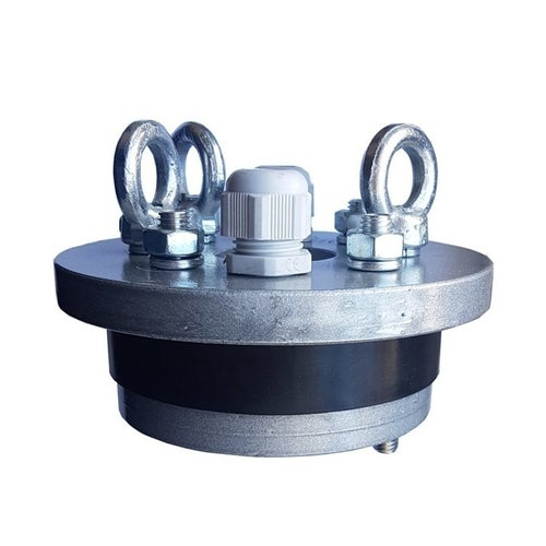 Głowica studzienna ocynkowana 125/40 mm