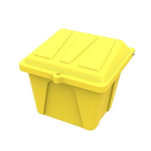 Pojemnik na piach i sól 100 l żółty