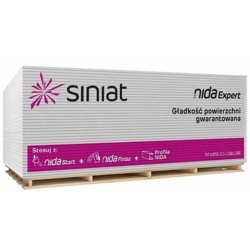 Płyta gipsowo-kartonowa standardowa Siniat Nida Expert 1200x2600x9,5 mm GKB typ A