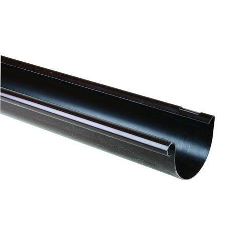 Rynna G125, dł. 2 m, brązowa PVC Scala Plastics
