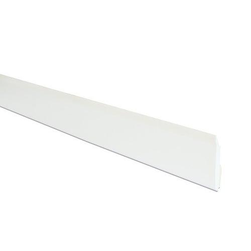 Płaskownik PVC 4.3x40x3000 mm Biały