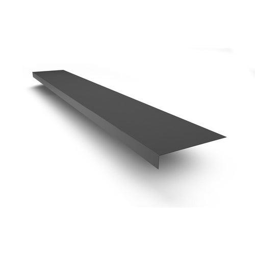 Pas podrynnowy 170x30 mm, dł. 2 m, grafitowy metal Scala Plastics