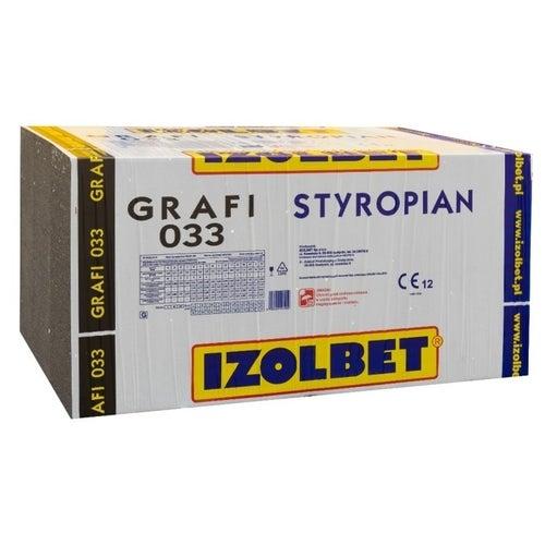 Styropian Izolbet Grafi 5 cm EPS 0,033 W/(mK) 6 m2