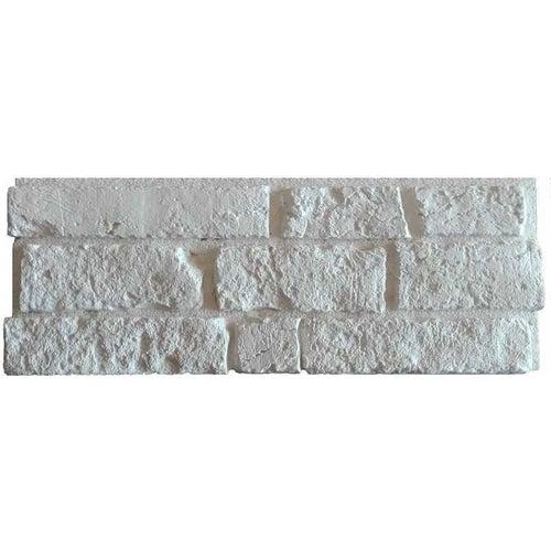 Kamień dekoracyjny Santos, biały, opak. 0.52m2, gips