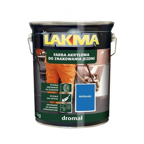 Farba do znakowania Dromal Lakma niebieski 5kg