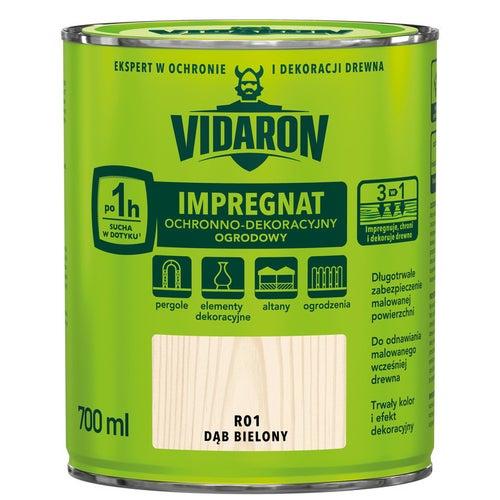 Impregnat ogrodowy Vidaron dąb bielony 0,7l