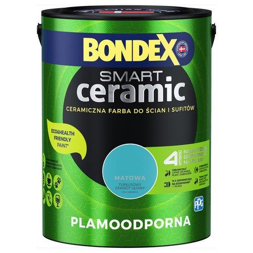 Farba Bondex Smart Ceramic turkusowy zawrót głowy 5l