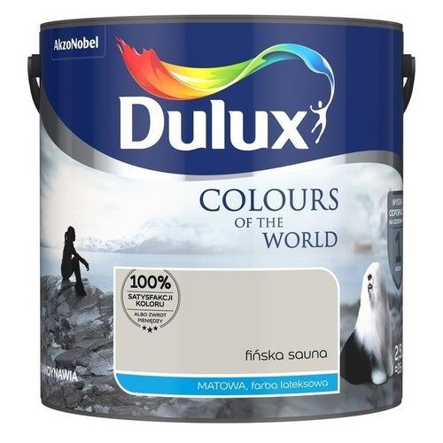 Farba Dulux Kolory Świata fińska sauna 2,5l