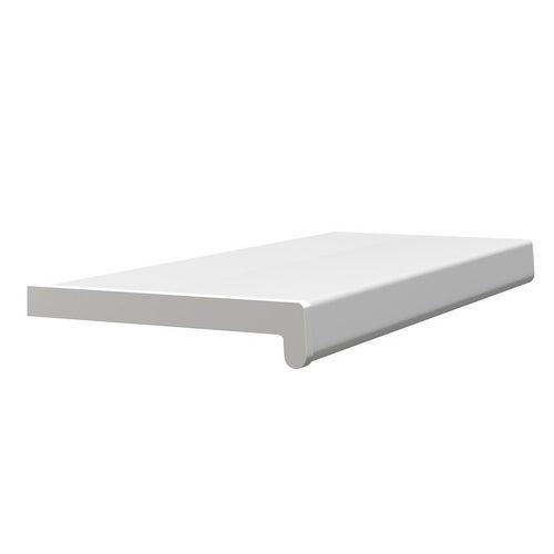Parapet wewnętrzny PCV 25x150cm, biały
