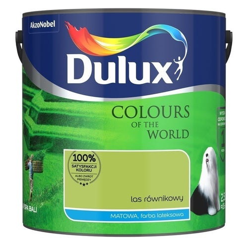 Farba Dulux Kolory Świata las równikowy 2,5l