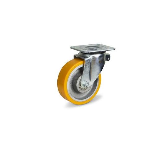 Zestaw jezdny skrętny 125 mm/300 kg