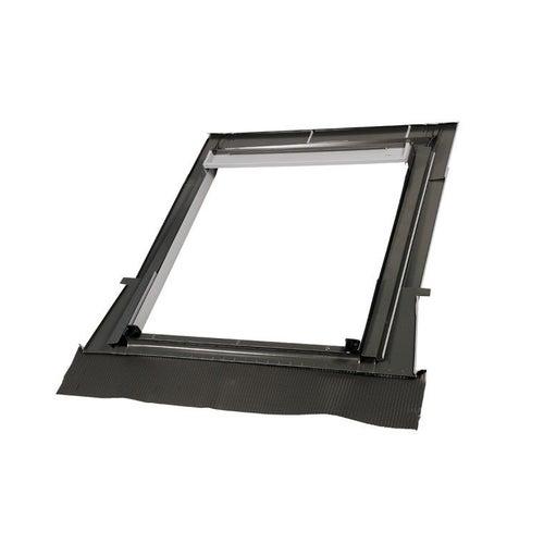 Kołnierz falisty do okna OptiLight 78x98 cm czarny