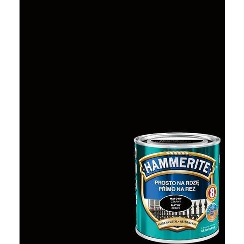 Farba antykorozyja Hammerite czarny mat 0,7l