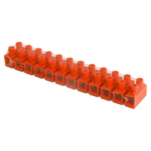 Listwa zaciskowa 12-torowa 16mm2 pomarańczowa