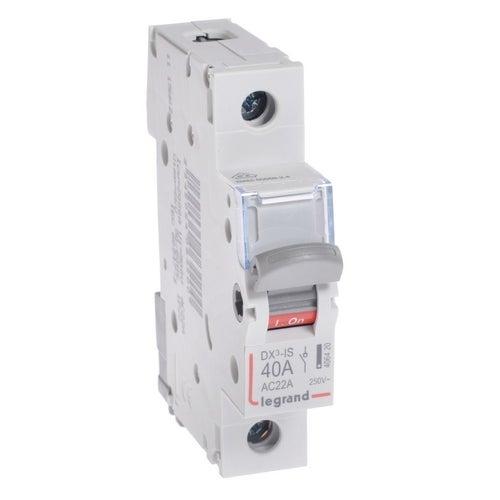 Rozłącznik izolacyjny FR 301 1P 40A TX3 692164 Legrand
