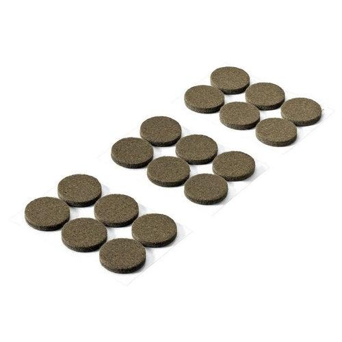 Podkładki filcowe samoprzylepne 28x4.5mm 18 szt.