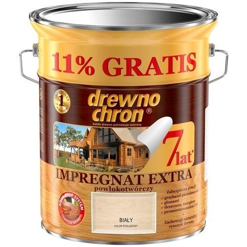 Impregnat Drewnochron Extra biały 4,5+11%l