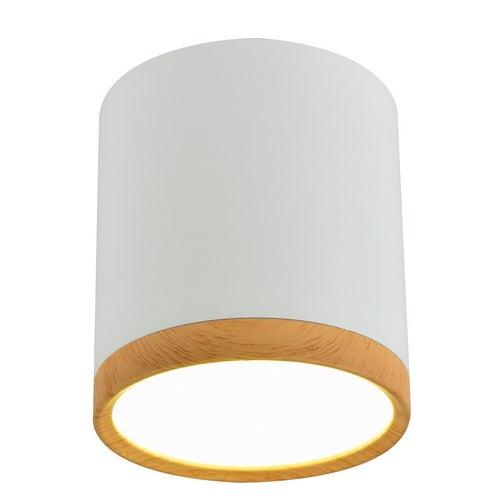 Oprawa tuba 5W LED 4000K biały drewno