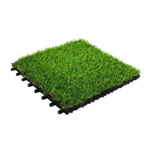 Podest tarasowy, sztuczna trawa, wym. 300x300 mm, imitacja trawy, model premium