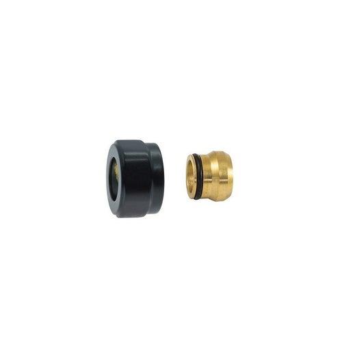 Złączka zaciskowa do PEX M22x1,5-15 mm, czarna matowa