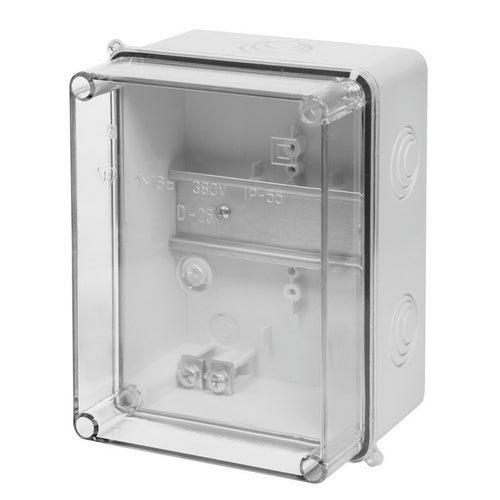 Obudowa hermetyczna Carbo-Box IP55 158x118x80 z szyną