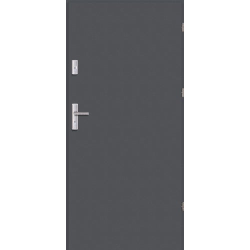 Drzwi wejściowe Optimum 90 cm prawe antracyt
