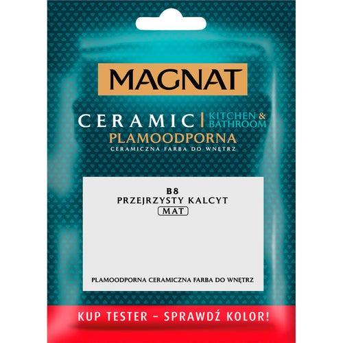 Farba Magnat Ceramic Kitchen&Bathroom tester przejrzysty kalcyt 0,03l