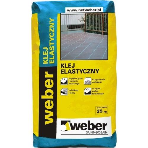 Klej do płytek elastyczny Weber 25 kg