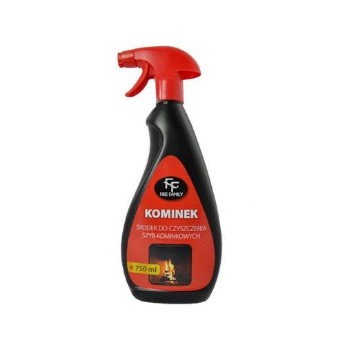 Środek do czyszczenia szyb kominkowych FF 750 ml