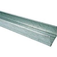 Profil do suchej zabudowy ścienny CW75 Budmat 73.8/41/48x2600 mm, 0.5 mm