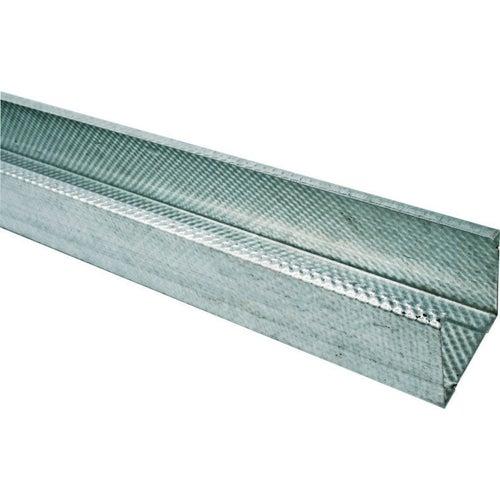 Profil do suchej zabudowy ścienny CW75 Budmat 73.8/51/48x2600 mm, 0.5 mm