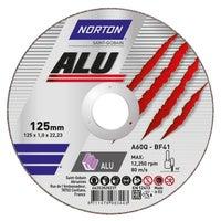 Tarcza do cięcia aluminium 125x1,0x22,2 mm