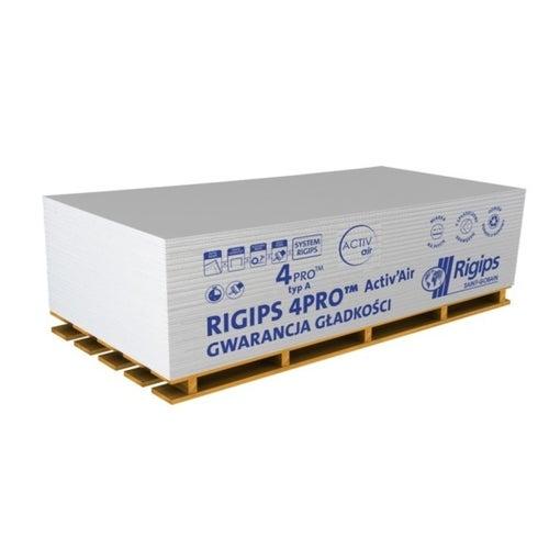 Płyta gipsowo-kartonowa impregnowana Rigips 4PRO Hydro 1200x2000x12,5 mm GKBI typ H2