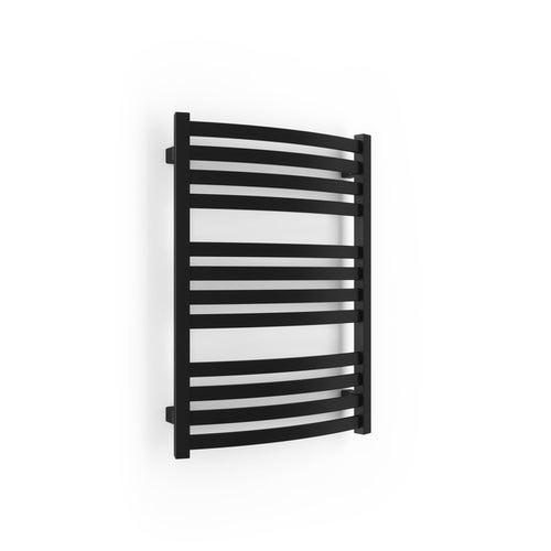 Grzejnik łazienkowy Gama 71x50 cm, czarny matowy