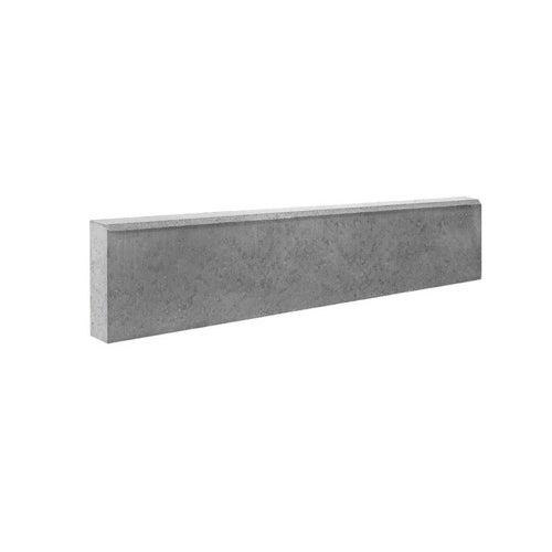 Obrzeże chodnikowe Bruk-Bet szare 100x20x6 cm