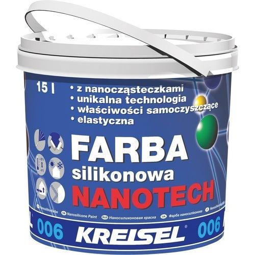 Farba silikonowa Nanotech 006 Kreisel 15 l, grupa kolorystyczna I